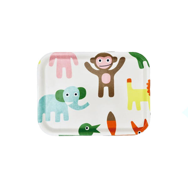 Zoo Birchwood 20cm x 27cm Tray