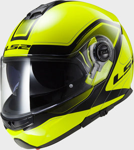 LS2 FF325 Strobe (Flip Up) Civik Hi-Vis Yellow