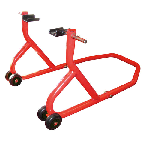 BikeTek Rear Paddock Stand Red