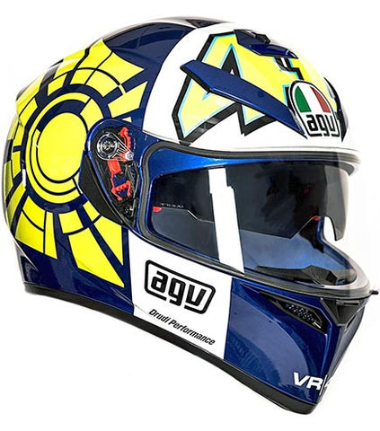 AGV K3 SV Rossi Winter Test Blue