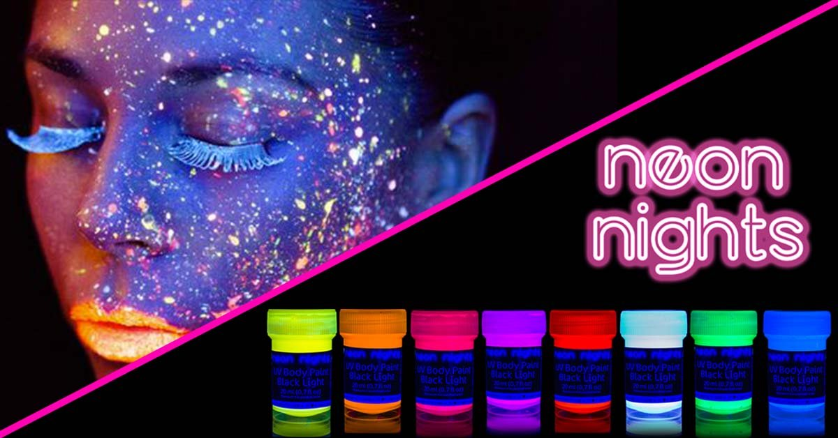Swell Neon Nights Uv Paints Glow In The Dark Paints Made In Home Remodeling Inspirations Genioncuboardxyz
