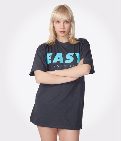 EASY T-SHIRT DARKGREY-TRK