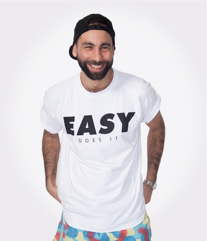 EASY T-SHIRT WHT-BLK