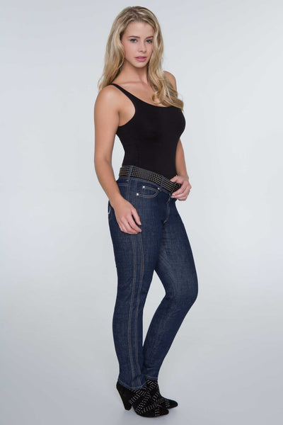 Lady Jeans Night Skinny Mid Rise