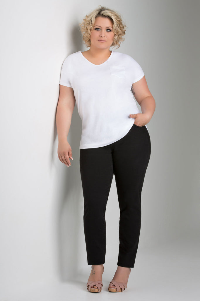 Venus Jeans Black Slim High Waist