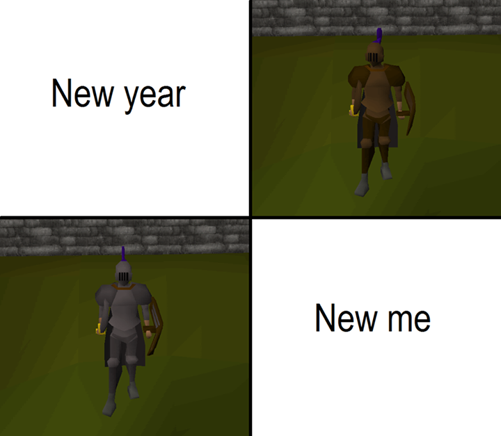 New year meme
