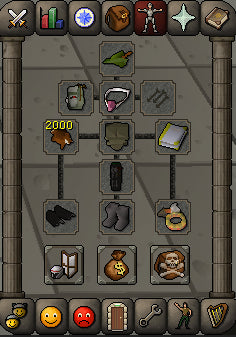 Gear for 1 Def lvl range pures red chins osrs