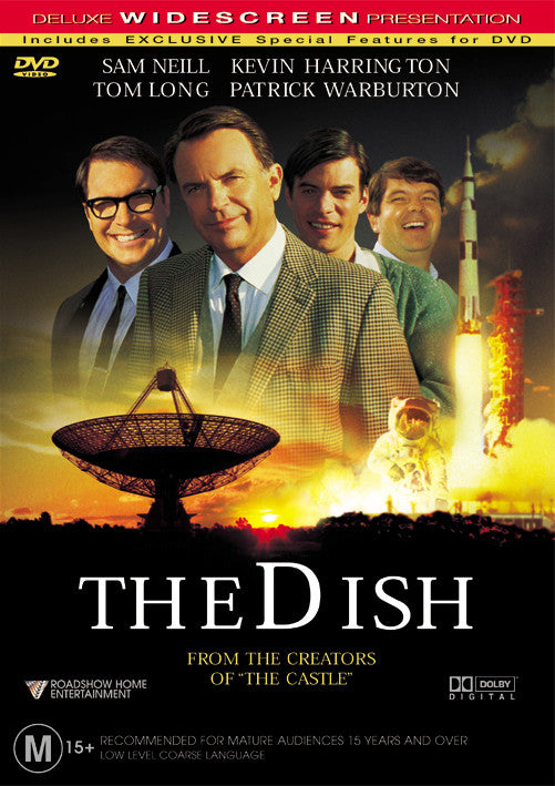 Image result for the dish dvd cover