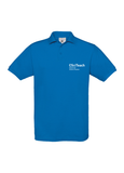 Blue polo shirt with CSciTeach Chartered Science Teacher in white text