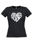For the love of science t-shirt (ladies fit)