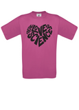 For the love of science t-shirt (unisex fit)