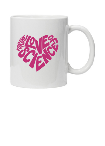 For the love of science mug