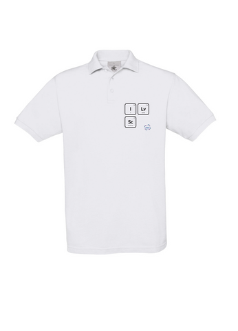 I LV SC White Polo