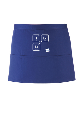 I Lv Sc Royal Blue Apron