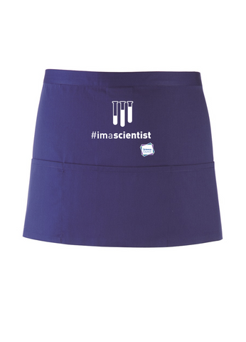 #imascientist Test Tube Purple Apron