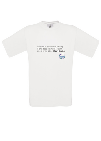 Science is a wonderful thing - Albert E White T-Shirt