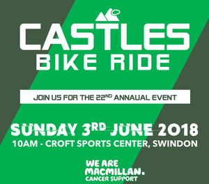 22ND CASTLES BIKE RIDE - 3|6|18