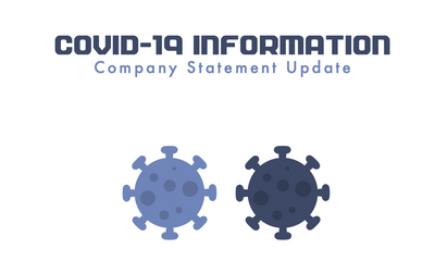 COVID-19 Company Statement - 23.10.20
