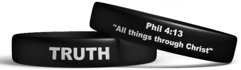 Black Truth Wristband