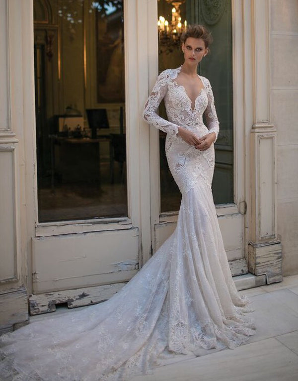 Wedding dress by Berta