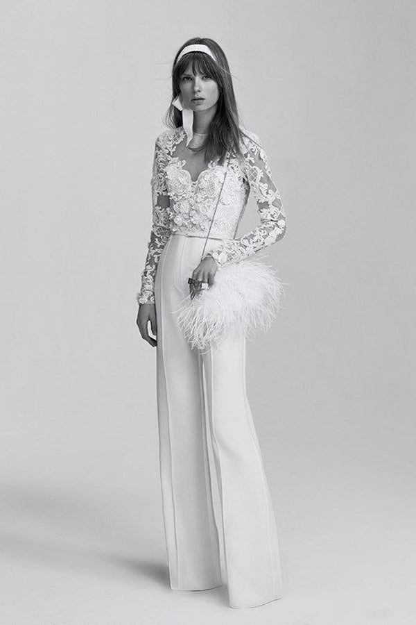 Elie Saab Trouser Wedding Dress
