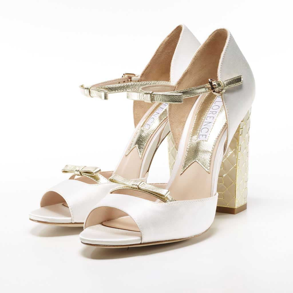 Florence Michelle Vintage Wedding Shoes By
