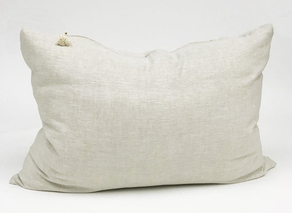 Headboard Cushion in Yarn Dyed Solid
