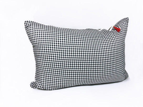 Headboard Cushion in Camo & Gingham | Hedgehouse