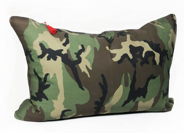 Headboard Cushion in Camo | Hedgehouse