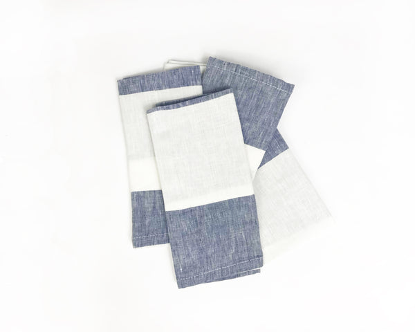 Harbour Island Napkin in Blue | Hedgehouse