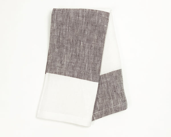 Harbour Island Napkin in Dark Chocolate | Hedgehouse