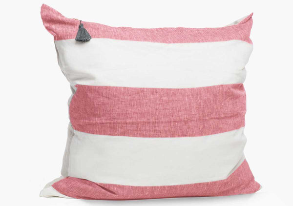 Harbour Island Pillow In Blush - 26"