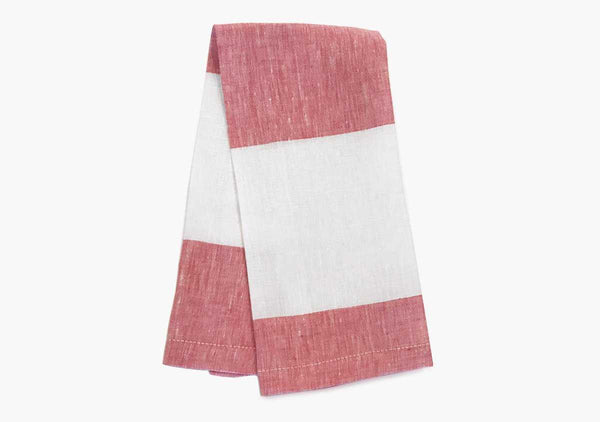 Harbour Island Hand Towels in Blush (Set of 2)