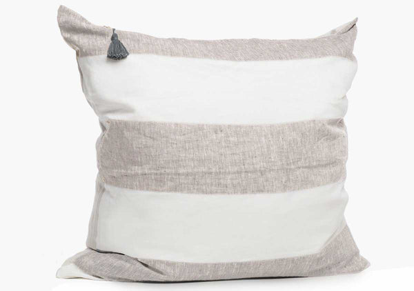Harbour Island Pillow In Oatmeal - 26"