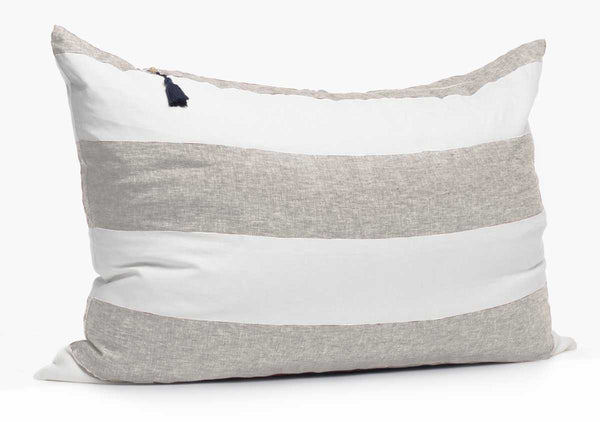 Harbour Island Headboard Cushion In Oatmeal | Hedgehouse