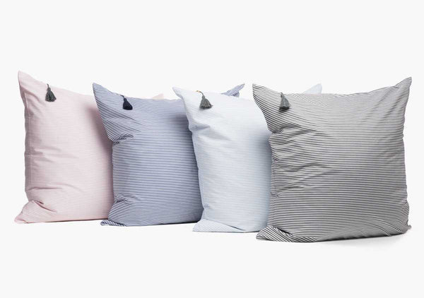 Islesboro Shirt Cloth Pillow In Pink - 26"