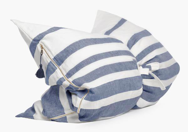 Majorca Blue Mini Throwbed | Hedgehouse
