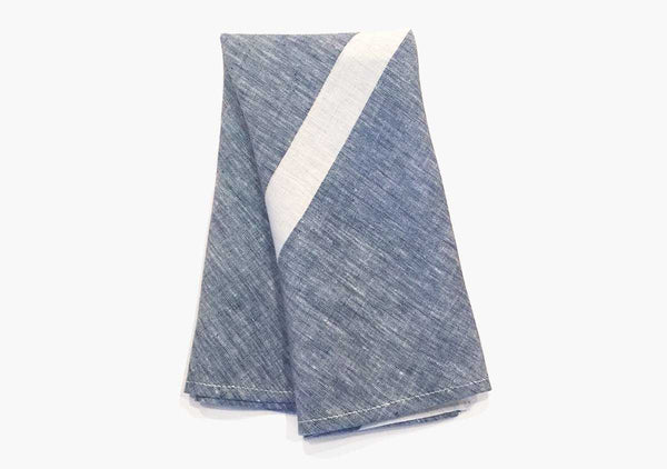 Majorca Hand Towels in Blue (Set of 2)