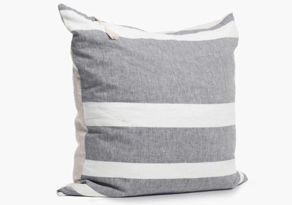"Majorca Pillow in Charcoal 26"" x 26"" 