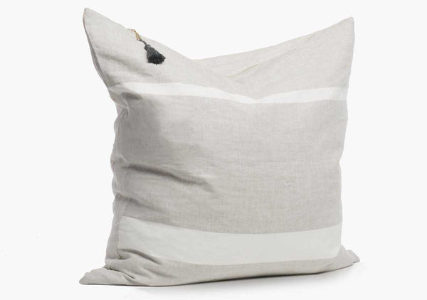 "Majorca Oatmeal 26"" Pillow"