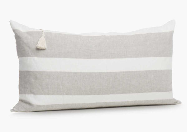 "Majorca Oatmeal 14"" x 26"" Pillow"