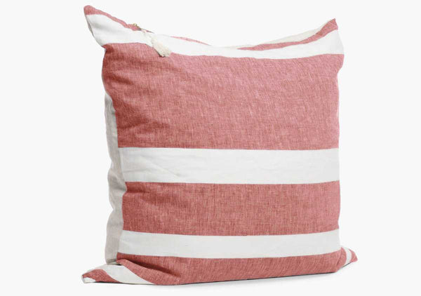 "Majorca Red 26"" Pillow"