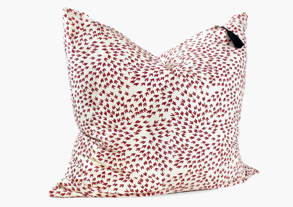 Normandy Throw Pillow In Red Arrows - 26"