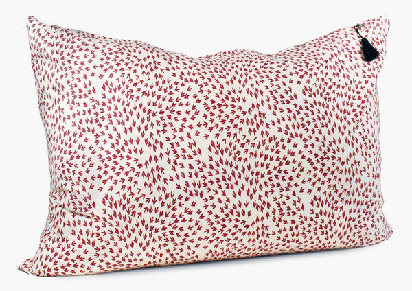 Normandy Headboard Cushion In Red Arrows | Hedgehouse