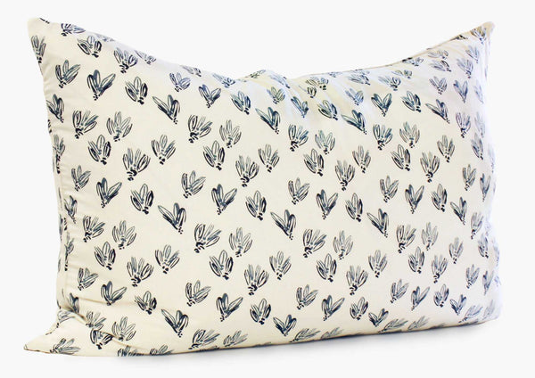 Normandy Headboard Cushion In Blue Bows