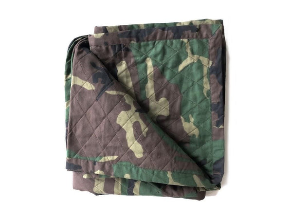 Quilted Throw in Camo