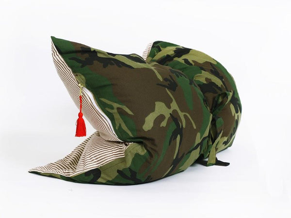 Mini Throwbed in Camo and Toulouse