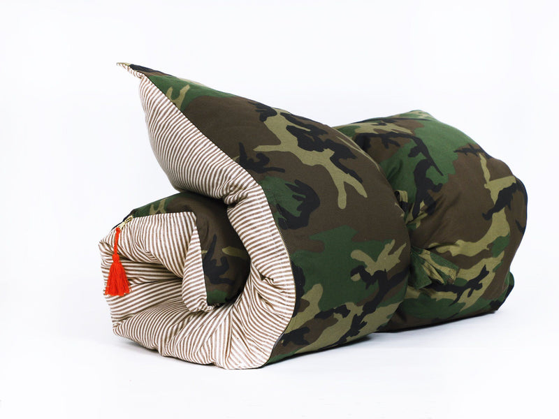 Throwbed in Camo & Toulouse