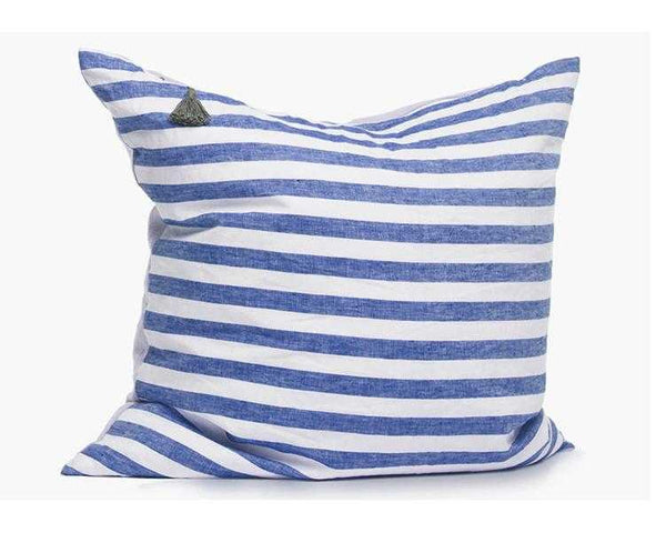 Sur La Mer Pillow In Blue Wide - 26""