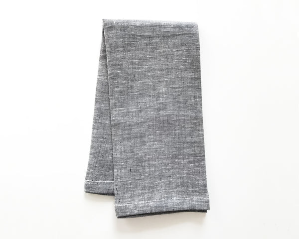 Solid Napkin in Charcoal